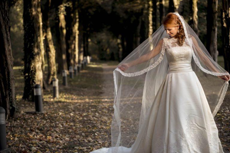 Fotografii de nunta in care mireasa este uimitoare